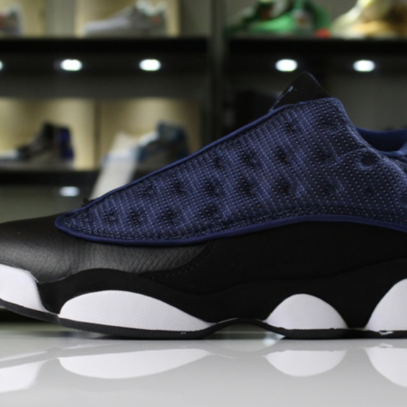 6b2366a00bc Shoes | New Air Jordan 13 Low Navy Brave Blue Metallic S | Poshmark